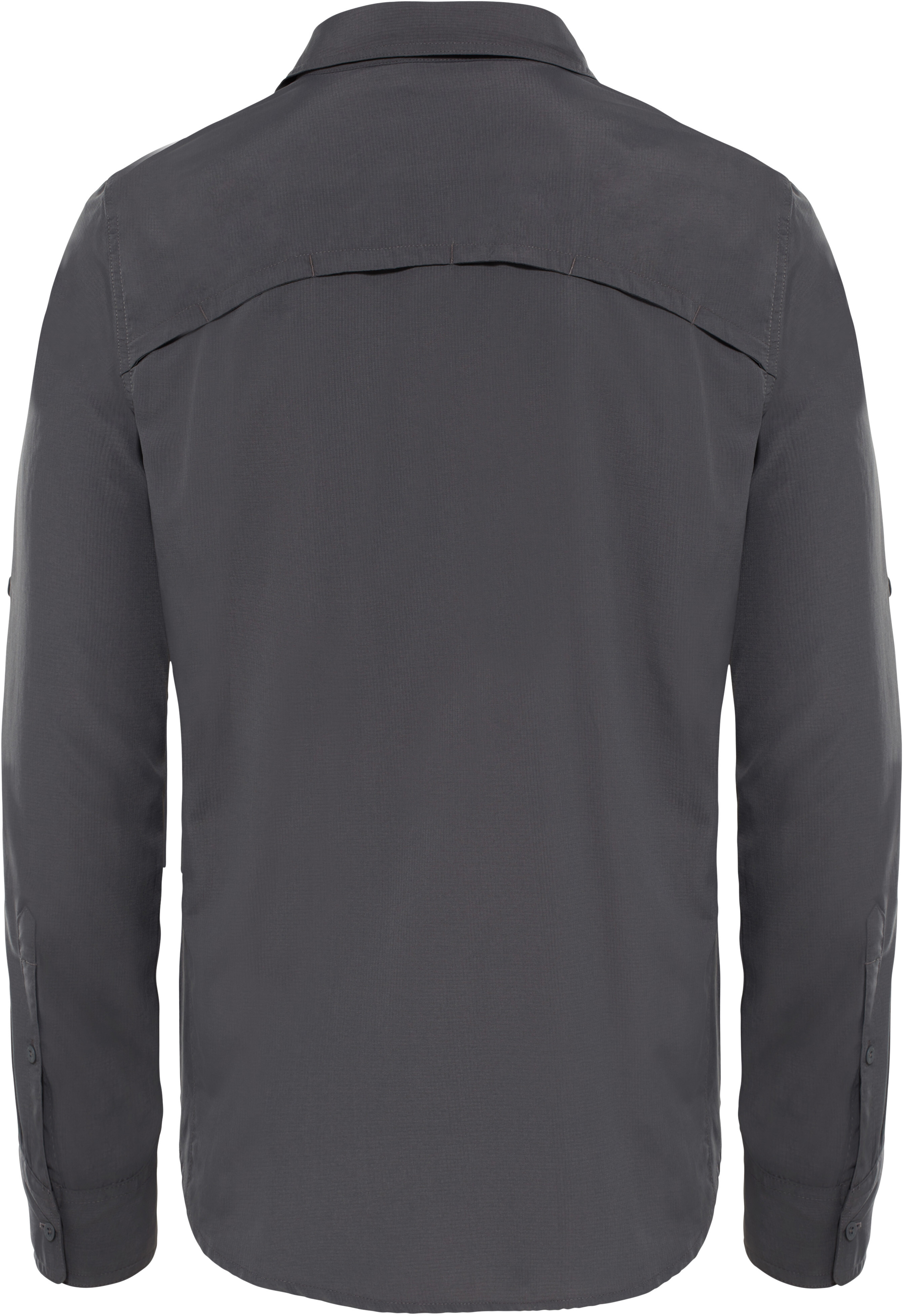 034729dd95aed The North Face Sequoia - T-shirt manches longues Homme - gris sur ...
